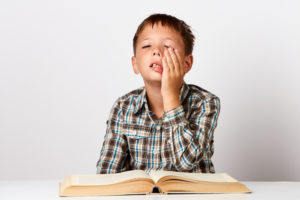 勉強が苦手な子供